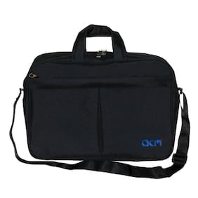 "Acm Executive Office Padded Laptop Bag for Lenovo Ideapad 500 80nt00pain 15.6"" Laptop Black"
