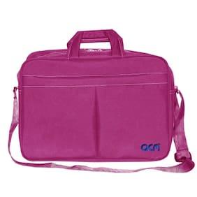 """Acm Executive Office Padded Laptop Bag for Acer Aspire Es1-521 Nx.G2ksi.010 15.6"""" Laptop Pink"""