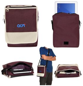 Acm Flip Soft Padded Shoulder Sling Bag for Honor Waterplay 10.1 Carrying Case