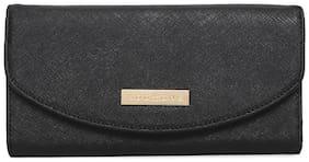 Addons Women PU Wallet - Black