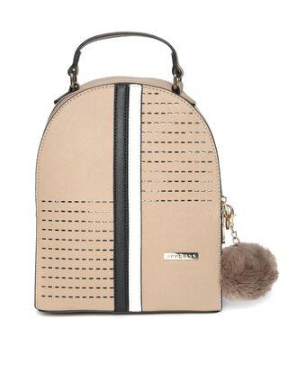 Addons Laser Cut with Pom Pom Hanging backpack