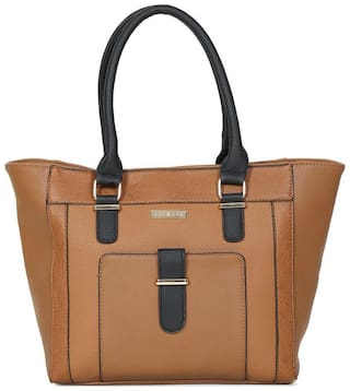 Addons Modern Panelled Tote