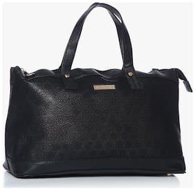 Addons Faux Leather Women Handheld Bag - Black