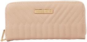 Addons Women PU Wallet - Beige