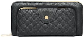 Addons Women Pu Wallet - Black