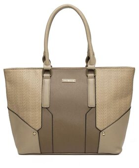 Addons snake textured Tote