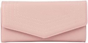 Addons Women PU Wallet - Pink