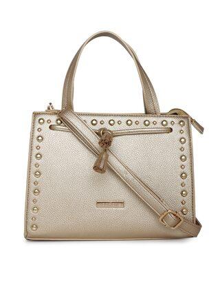 Addons Tasseled Satchel Bag