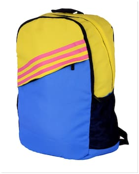 Adidas Blue Yellow Backpack