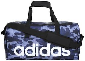 Adidas Men's Lin Per TB GR S Blue Polyester Duffel Bag