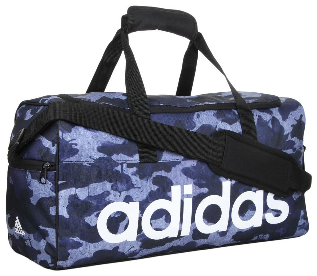 6622fc069154 Buy Adidas Men s Lin Per TB GR S Blue Polyester Duffel Bag Online at Low  Prices in India - Paytmmall.com