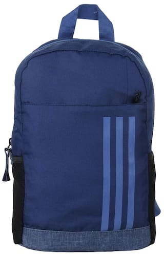 Buy Adidas Kid s CL XS 3S Blue Backpack Online at Low Prices in ... 523cbc4d4ddb2