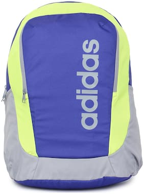 Adidas 25 ltr Blue Polyester Laptop backpack