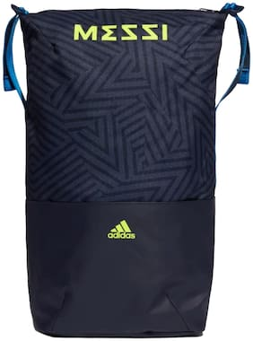 Adidas Blue Polyester Backpack
