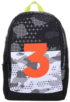 Adidas Black Polyester Backpack