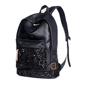 Aeoss Fashion Women Crown Embroidered Sequins Pu Leather Backpack School Bags  Backpack e6d1d884e66a4