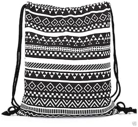 Aeoss Black Canvas Backpack