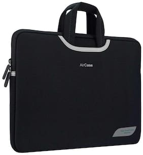 Airplus Black Polyester Laptop Backpack