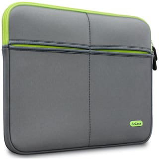 AirCase Grey Polyester Laptop backpack