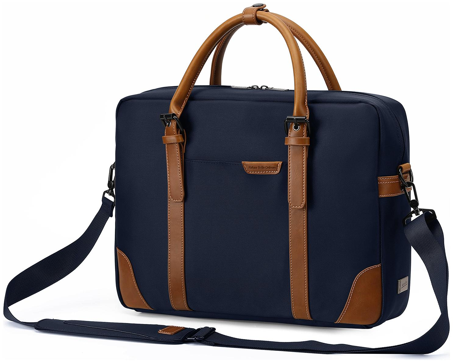 AirCase Signature Series CS63 Laptop Messenger Bag for 13 inch, 14 inch, 15.6 inch  Classic Blue