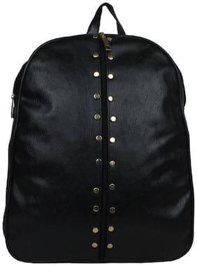 AL NOONE STAR Black PU Backpack