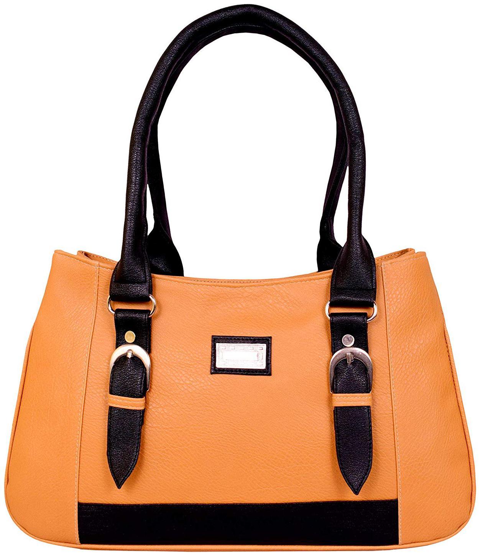 All Day 365 Tan PU Shoulder Bag