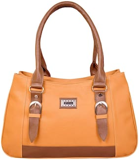 All Day 365 Tan PU Shoulder Bag