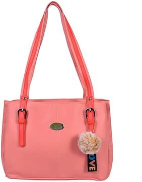 All Day 365 Orange PU Shoulder Bag - Shoulder bag