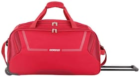 American Tourister Medium Size Duffle Strolly - Red , 2 Wheels