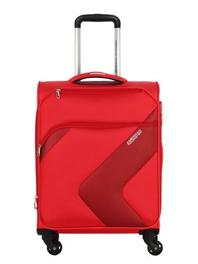 American Tourister Red Solid Luggage BagFor Unisex