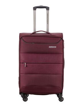 American Tourister Maroon Solid Luggage BagFor Unisex