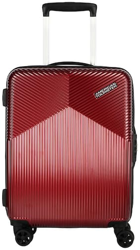 American Tourister Medium Size Hard Luggage Bag - Red , 8 Wheels