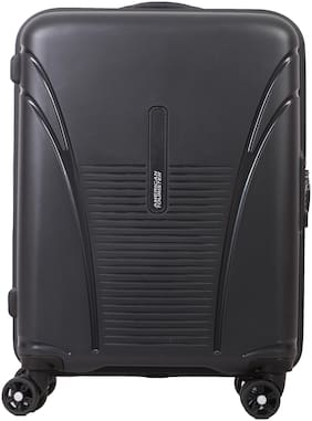 American Tourister Skytracer Plus Cabin Size Hard Luggage Bag ( Grey , 4 Wheels )