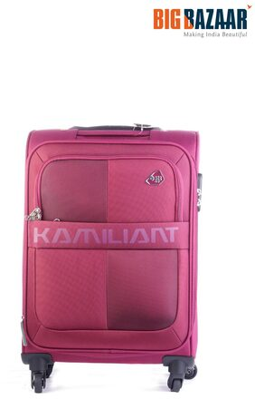 Kamiliant Oromo 55 cm Trolly Bag (Magenta)