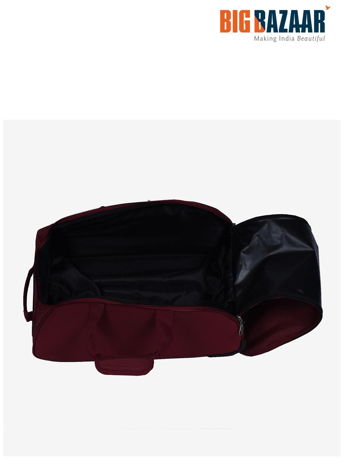 1966fcfc2c4 Buy Kamiliant Polyester Men Duffle Bag - Maroon Online at Low Prices in  India - Paytmmall.com