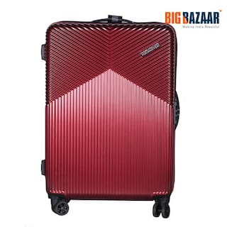 buy american tourister hard luggage red online at low prices in