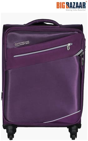 American Tourister Fiji SP Soft Trolley 58 cm (Plum)