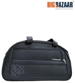 558d012746e Buy Kamiliant Polyester Women Duffle Bag - Black Online at Low ...