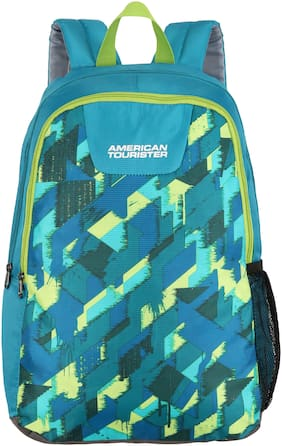 American Tourister Blue Waterproof Polyester Backpack