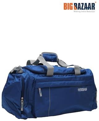 American Tourister X Bags 55 cm Casual 2 Duffle Airbag (Blue)