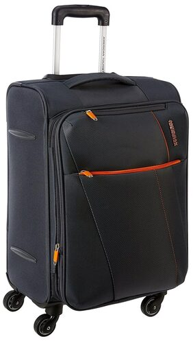 American Tourister 4 - Grey Cabin Soft Luggage Luggage
