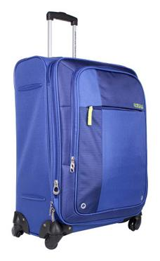 American Tourister Blue Polyester Strolley (Large Luggage)