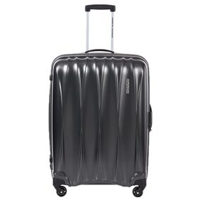 American Tourister Grey Polyester Strolley Bag