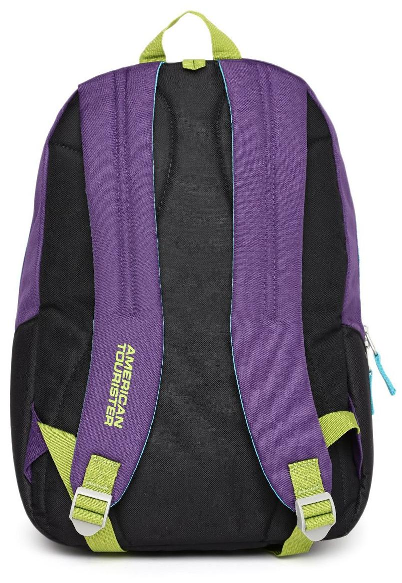 c6bccc22a8 Buy American Tourister Jasper 13 ltrs Purple Kids Backpack (5 - 7 years age)  Online at Low Prices in India - Paytmmall.com