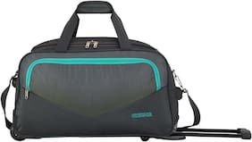 American Tourister Polyester Men Gym bag - Grey