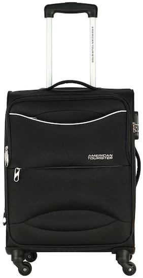 American Tourister Large Size Soft Luggage Bag - Black , 4 Wheels