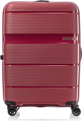 American Tourister Medium Size Hard Luggage Bag - Red , 4 Wheels