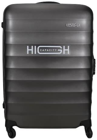 American Tourister Cabin Size Hard Luggage Bag - Grey , 4 Wheels
