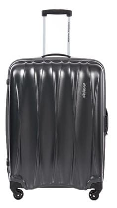American Tourister Cabin Size Luggage Set - Grey , 4 Wheels