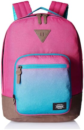 American Tourister Pink Polyester Backpack